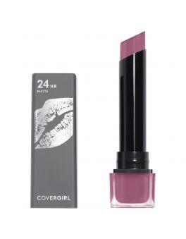 COVERGIRL Exhibitionist 24 Hour Ultra Matte Lipstick, Provocateur #650 3.5g