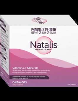 NATALIS 100 TABLETS BLISTER PACK