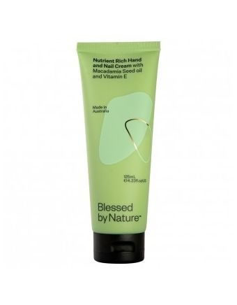 Blessed By Nature Nutrient Rich Hand And Nail Cream 125mL