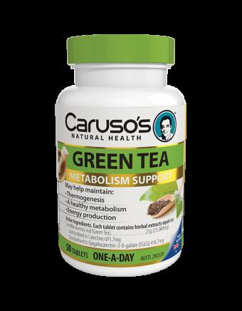 Caruso's Natural Health Green Tea 50 Tablets