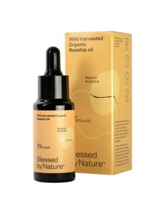 Blessed By Nature Wild Harvested Organic Rosehip Oil 20mL