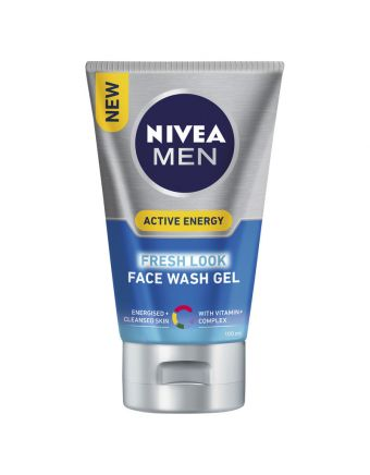 Nivea Men Face Wash Gel Active Energy 100mL