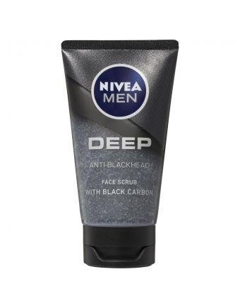 Nivea Men Face Scrub Wash Deep 75mL