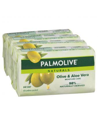 PALMOLIVE NATURALS SOAP GREEN 4PK 90G