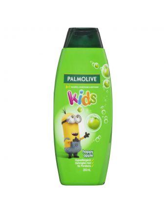 Palmolive 3 In 1 Kids Happy Apple Shampoo 350mL