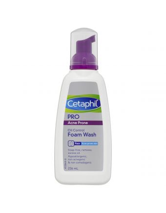 Cetaphil Pro Acne Prone Foam Wash 236mL