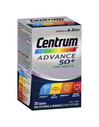 CENTRUM ADVANCE 50+ 30'S