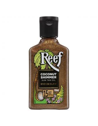 Reef Coconut Shimmer Sun Tan Oil SPF 15 125mL