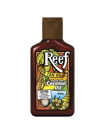 Reef Dark Coconut Sun Tan Oil 125mL