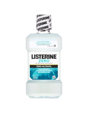 Listerine Zero Alcohol Mouthwash 250mL