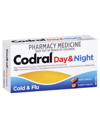 CODRAL PE DAY & NIGHT TABLETS 24