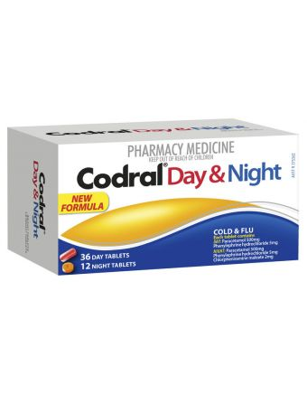CODRAL PE DAY & NIGHT TABLETS 48
