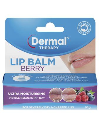 Dermal Therapy Lip Balm Berry 10G