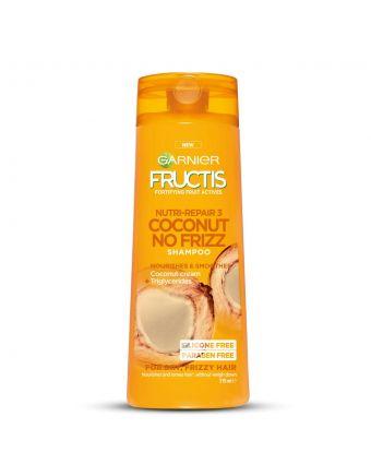 Garnier Fructis Coconut No-Frizz Shampoo 315mL