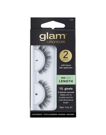 Glam by Manicare Gisele Lashes 2 Pack