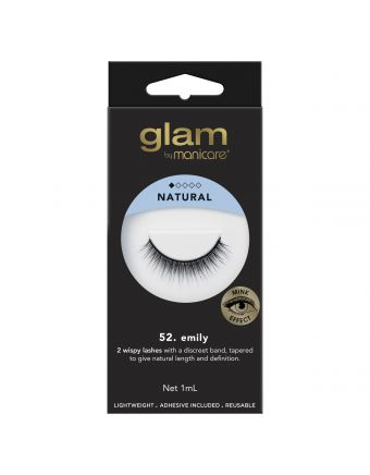 Glam by Manicare Lash Emily (Mink)