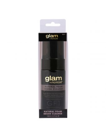 Glam by Manicare Nat Brush Cleaner 100mL