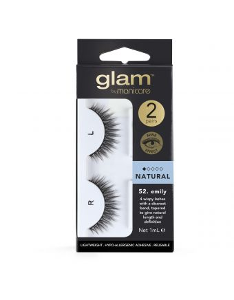 Glam by Manicare Lash Emily (Mink) 2 Pack