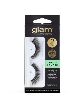 Glam by Manicare Lash Sophia (Mink) 2 Pack