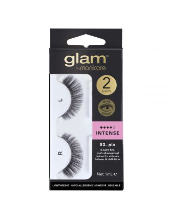 Glam by Manicare Lash Pia (Mink) 2 Pack