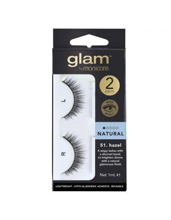 Glam by Manicare Lash Hazel (Mink) 2 Pack