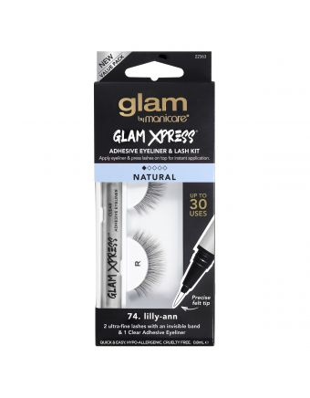 Glam by Manicare 74. lilly-ann Glam Xpress® Clear Adhesive Eyeliner & Lash Kit