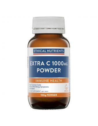 Ethical Nutrients IMMUZORB Extra C 1000mg Powder Orange 100g