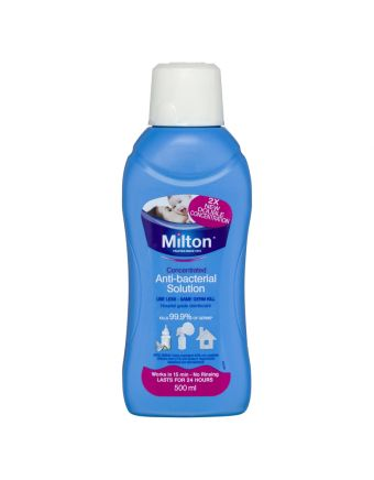 Milton Concentrated Anti-Bacterial Solution 500mL