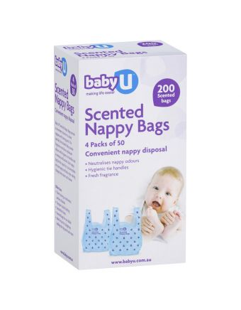 Baby U Nappy Bags 200 Pack