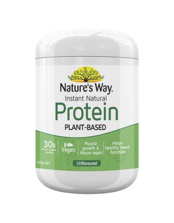 Nature's Way Instant Natural Protein Natural 375G
