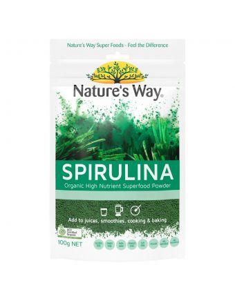 Nature's Way Superfoods Spirulina 100G