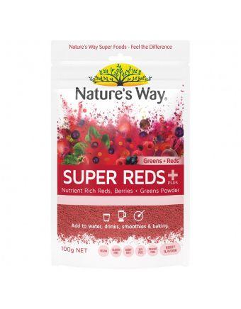 Nature's Way Super Greens + Reds 100G
