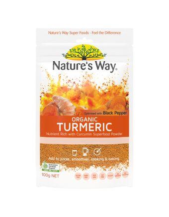 Nature's Way Sf Org Turmeric Powder 100G