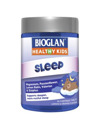 Bioglan Healthy Kids Sleep 50 Chewable Tablets