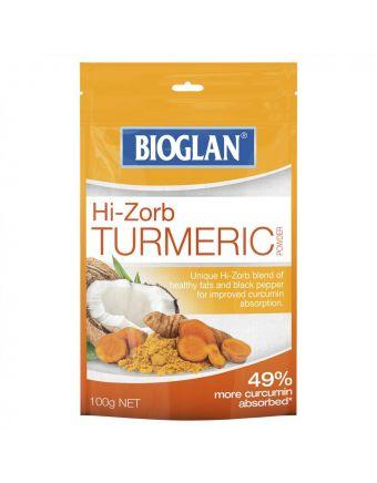 Bioglan Hi-Zorb Turmeric Pwd 100G