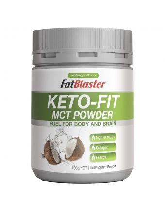 Naturopathica FatBlaster Keto Fit Mct Powder 100G