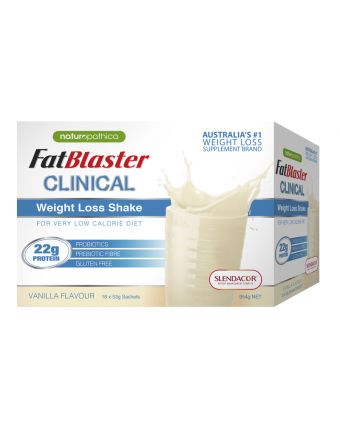 Naturopathica FatBlaster Clinical Weight Loss Shake Van Shk 18 x 53g