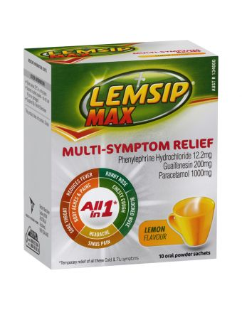 Lemsip All-In-One Hot Drink 10 Pack