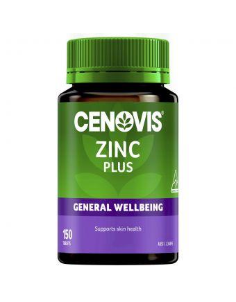 Cenovis Zinc Plus 25Mg Tablets 150