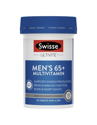 Swisse Men's Ultivite 65+ 60 Tablets