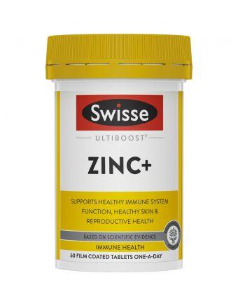 SWISSE ULTIBOOST ZINC+ 60 TAB