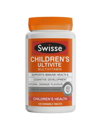 Swisse Children's Ultivite 120 Tabs