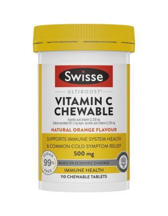 Swisse Ultiboost Vitamin C Chewable 110 Tab