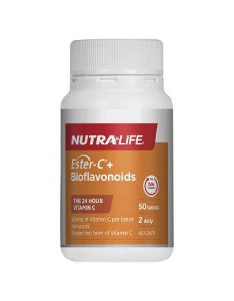 Nutra-Life Ester-C + Bioflavonoids50 Tablets
