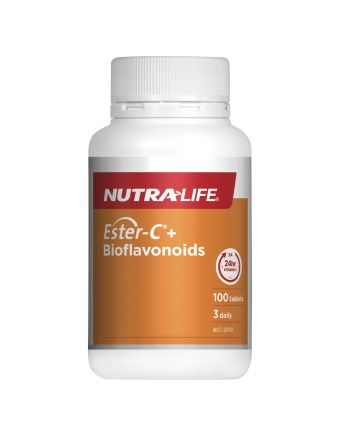 Nutra-Life Ester-C® 1000mg + Bioflavonoids 100 tablets