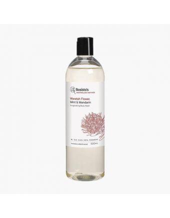 Bosisto's Waratah Flower, Mint & Mandarin Body Wash 500mL