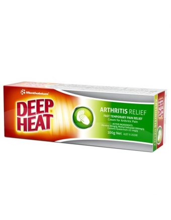 DEEP HEAT EXTRA STRENGTH ARTHRITIS CREAM 100G