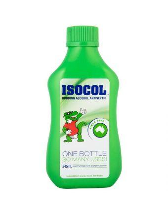 ISOCOL RUB ALCOHOL 345ML