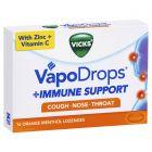 VICKS VAPODROPS IMMUNE SUPPORT ORANGE 16