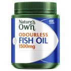 Nature's Own Odourless Fish Oil 1500Mg Capsules 400